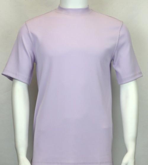 Bassiri S/S Mens Knit Microfiber T-Shirt - Lilac