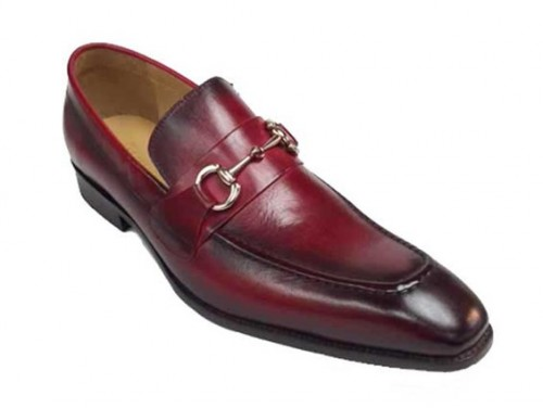 carrucci shoes, mens leather red shoes, mens leather shoes, dress shoes