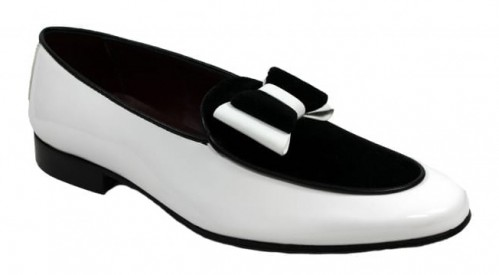 Duca by Matiste Men's Shoes - Made in Italy - Amalfi White Black