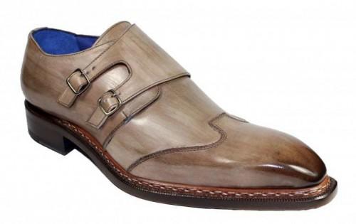 Men's Shoes by Emilio Franco -  Baldo Antique Taupe