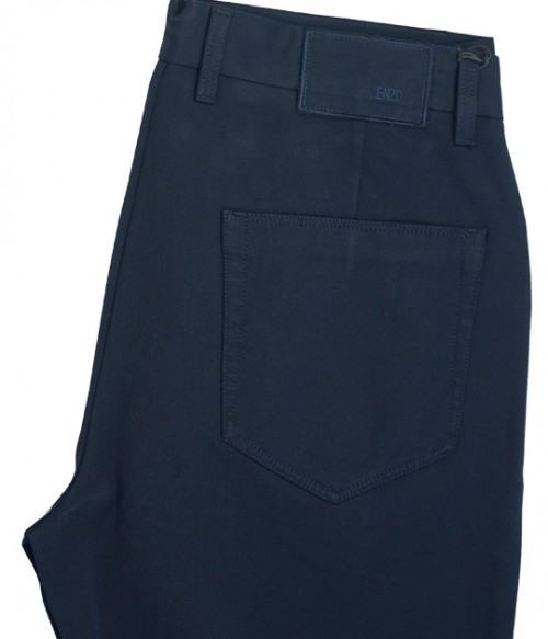 Enzo Denim Collection Mens Jeans - Berlin-7 Navy Serg