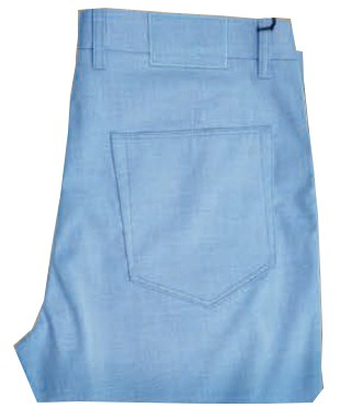 Enzo Denim Collection Mens Jeans - Berlin-9 - Sky Blue Tropical