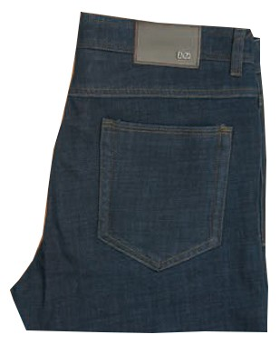 Enzo Denim Collection Mens Jeans - Beta Skinny-1 - Dk Blue Denim