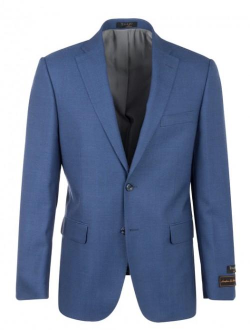 Tiglio Modern Fit Men's Blazer - Dolcetto French Blue