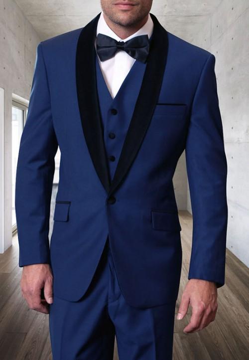 Men's Tux - Tailored Fit - Encore-V Sapphire