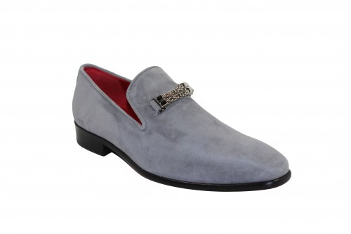 Men's Shoes by Emilio Franco - Grey