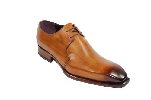 Men's Shoes by Emilio Franco - Cognac