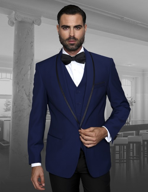 Men's Fashion Tux by STATEMENT - Genova Sapphire