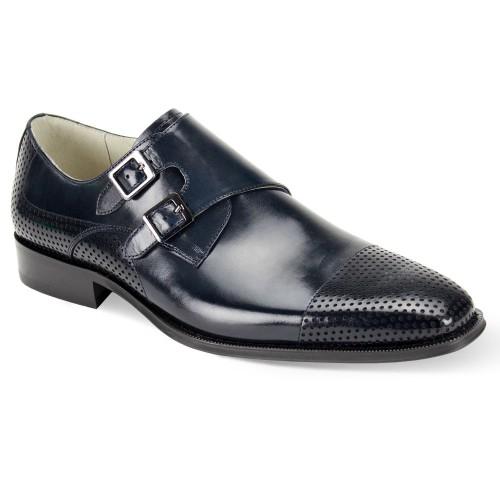 Gyles Slip-On Men's Shoe by Giovanni - Navy