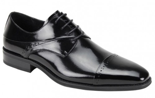 Hudson Men's Shoe by Giovanni - Black
