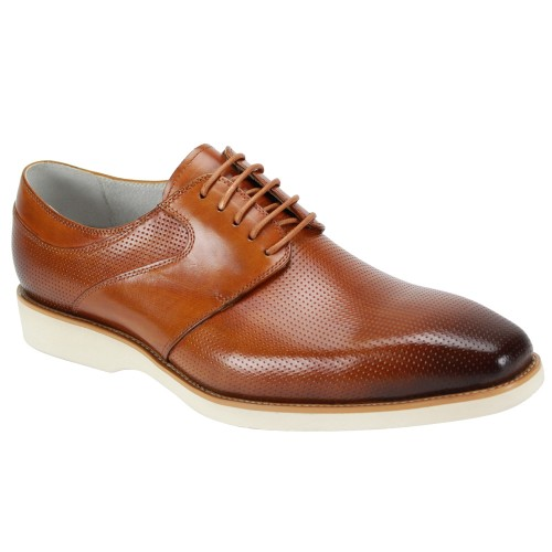 Joshua Lace-Up Men's Shoe by Giovanni - Tan