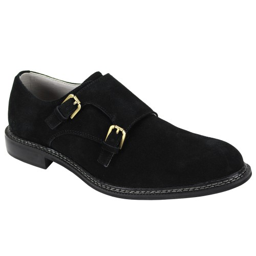 Kasey Slip-On Men's Shoe by Giovanni - Black