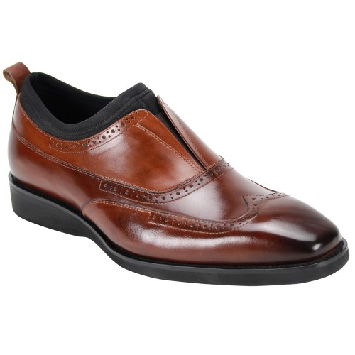 Kingston Slip-On Men's Shoe by Giovanni - Brown