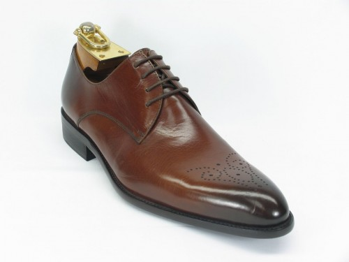 Men's Fashion Shoes by Carrucci - Lace-Up Cognac Ombre