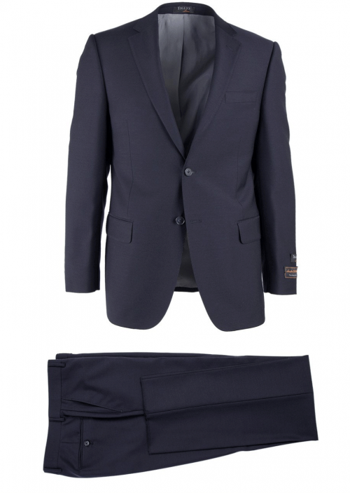 Novello Modern Fit Luxe Suit by Tiglio - Navy