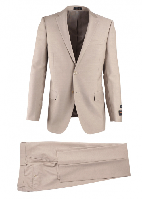 Novello Modern Fit Luxe Suit by Tiglio - Tan