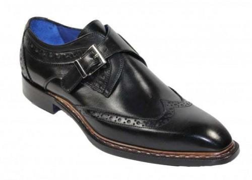 Men's Shoes by Emilio Franco - Riccardo Black
