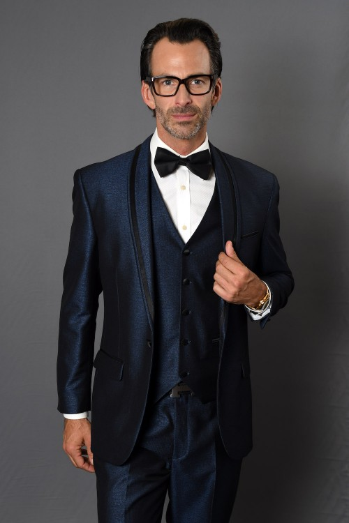 Men's Fashion Tux by STATEMENT - Rio Indigo