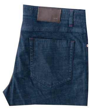 Enzo Denim Collection Mens Jeans - Saul Skinny-3 Blue Denim