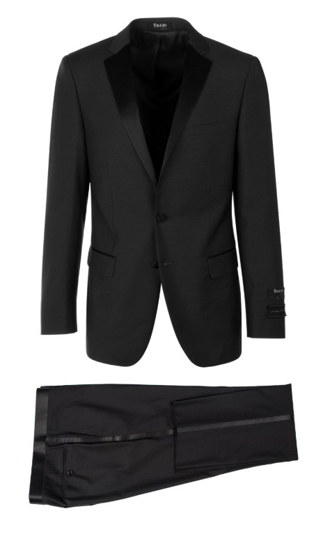 Slim Fit Tuxedo by Tiglio Luxe - Sienna Black