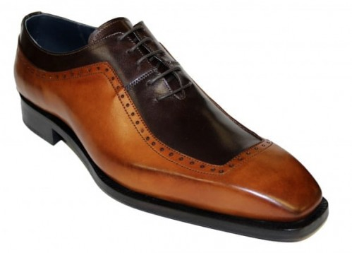 Duca by Matiste Men's Shoes - Made in Italy - Tivoli Cognac Choc
