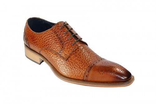 Duca by Matiste Men's Shoes - Made in Italy - Trento - Cognac