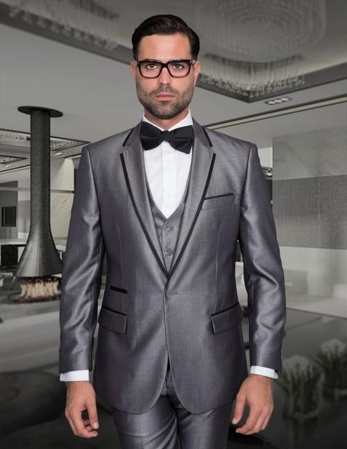 Men's Fashion Tux by STATEMENT - Venetian Silver