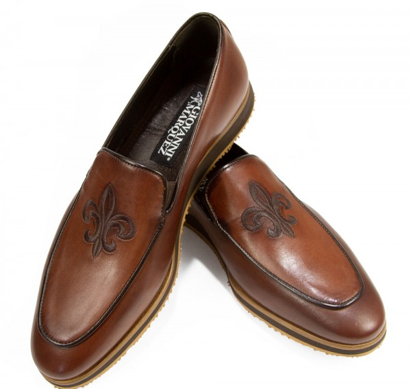 Giovanni Marquez Men's Shoes - Slip-On / Crest Coco f