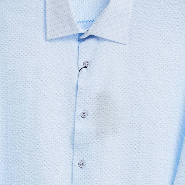 Men's Fashion Shirt by Gem Malki - Texture Lt Blue b