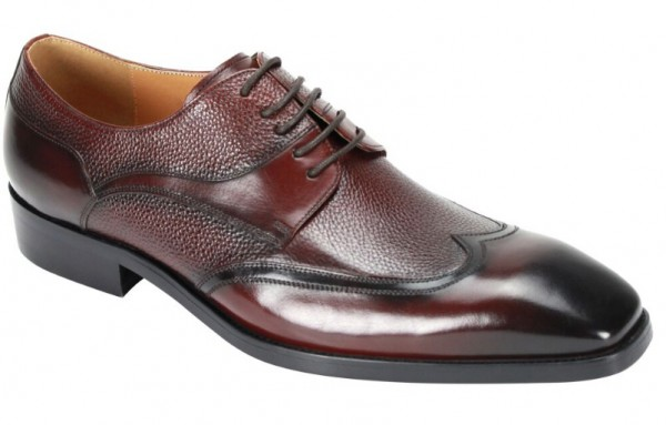 Lace-Up Men's Shoe by Giovanni - Burgundy