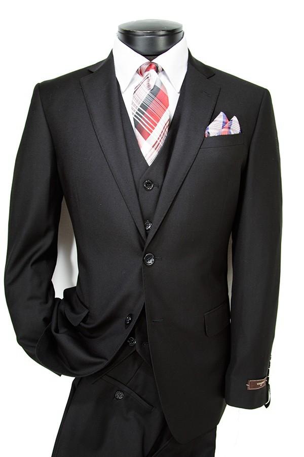 Vitarelli Fashion Fit Mens Suit - 15 Colors h