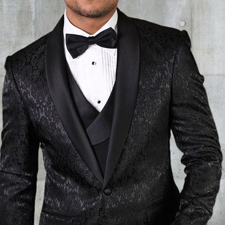 Men's Tux - Tailored Fit - Bellagio-14 Black b