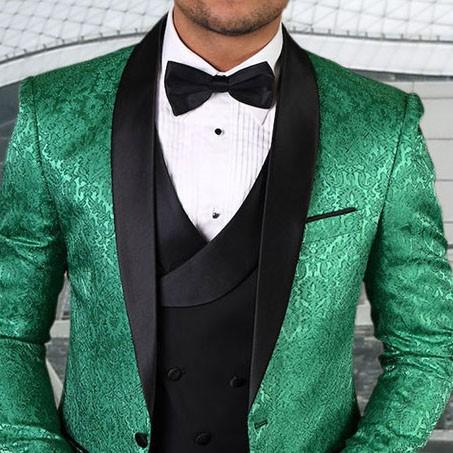 Men's Tux - Tailored Fit - Bellagio-14 Emerald b
