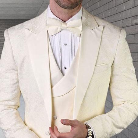Men's Tux - Tailored Fit - Bellagio-15 Off White b