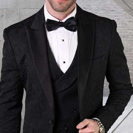 Men's Tux - Tailored Fit - Bellagio-15 Black b