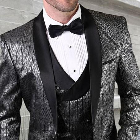Men's Tux - Tailored Fit - Bellagio-16 Black b