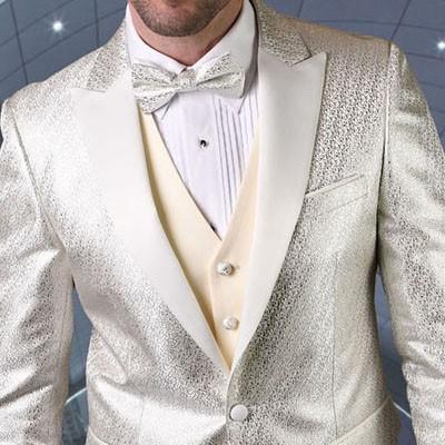 Men's Tux - Slim Fit - Bellagio-20 Off White b