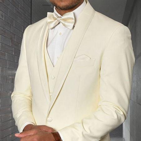 Men's Tux - Tailored Fit - Caesar Off White b