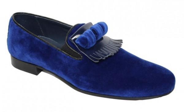 Duca by Matiste Men's Shoes - Made in Italy - Capua Blue a