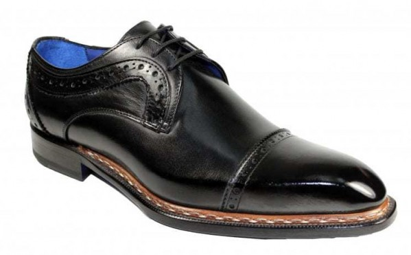 Men's Shoes by Emilio Franco - Dino Black