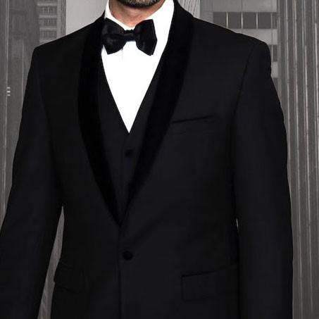 Men's Tux - Tailored Fit - Encore-V Black b