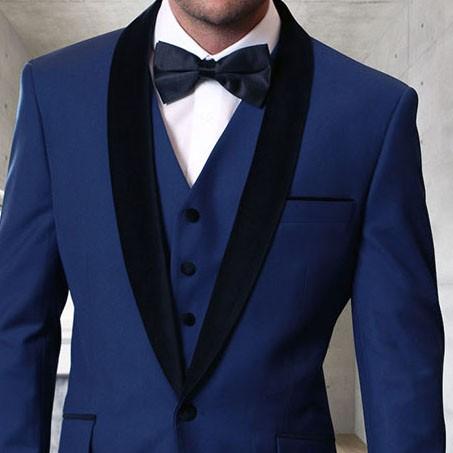 Men's Tux - Tailored Fit - Encore-V Sapphire b
