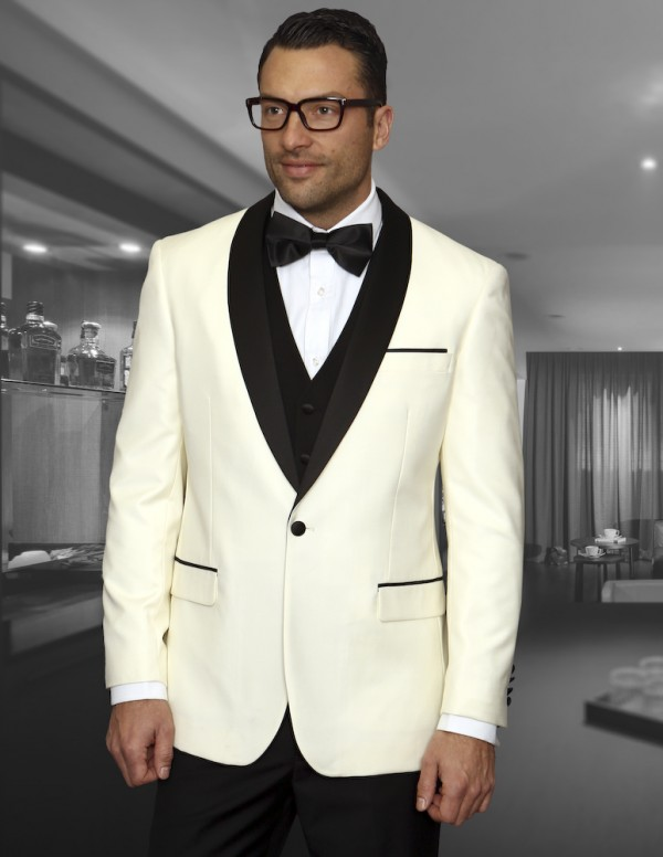 Men's Fashion Tux by STATEMENT - Encore Cream