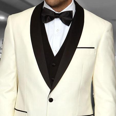 Men's Tux - Tailored Fit - Encore Cream b