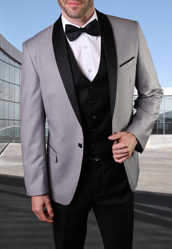 Men's Tux - Tailored Fit - Encore Gray a