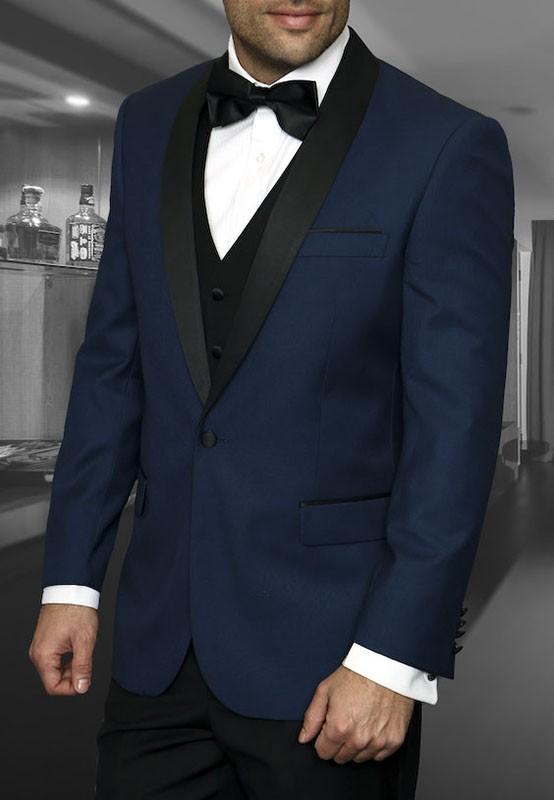 Men's Tux - Tailored Fit - Encore Indigo a