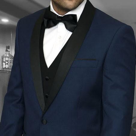 Men's Tux - Tailored Fit - Encore Indigo b