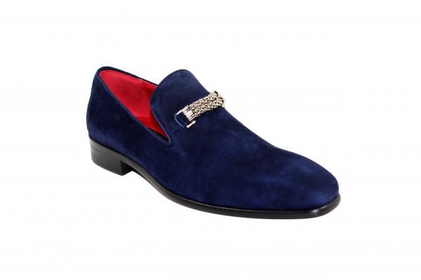 Men's Shoes by Emilio Franco - Navy