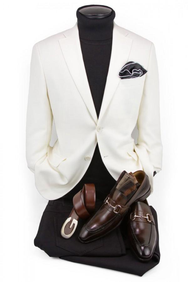 Men's Blazer by Tiglio Luxe - Firenze Off White