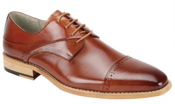 Hudson Men's Shoe by Giovanni - Whiskey